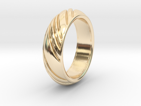 Swirly Ring in 14K Yellow Gold: 8 / 56.75