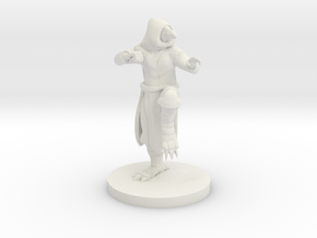 Ravenfolk Monk in White Natural Versatile Plastic