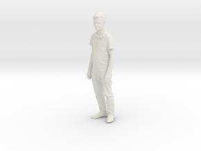 Printle C Homme 093 - 1/43.5 - wob in White Natural Versatile Plastic