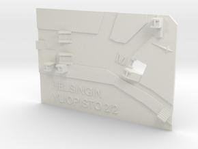 Helsingin yliopisto Metroasema ylätaso in White Natural Versatile Plastic