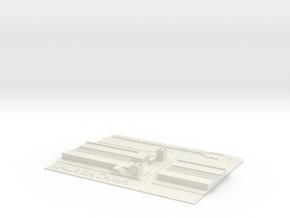 Kalasatama Metroasema in White Natural Versatile Plastic