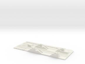 Itäkeskus Metroasema laituritaso in White Natural Versatile Plastic