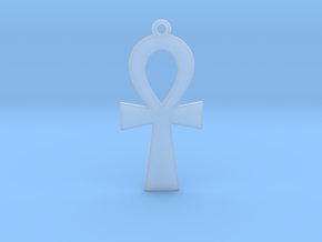 Ankh in Smooth Fine Detail Plastic