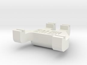 EM Track Gauge - Code 70 in White Natural Versatile Plastic