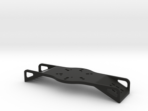 Deep dish wheel paddle mounting plate  in Black Strong & Flexible