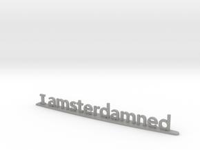I Amsterdamned in Aluminum