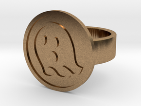Ghost Ring in Natural Brass: 8 / 56.75