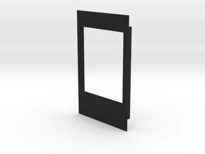 1.8 Inch TFT Display Bezel for Arduino in Black Natural Versatile Plastic