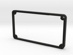 5mm Riser for 1590B 26650 Mod in Black Natural Versatile Plastic