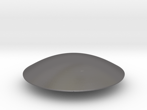 Flying Saucer Miniature 1 in Polished Nickel Steel