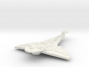 Galor Class Refit Cruiser in White Natural Versatile Plastic