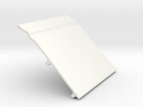 5026 Base Tile in Gloss White Porcelain: Medium