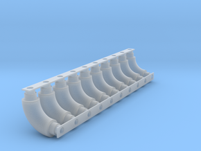 Welded elbows - 10ea in Smooth Fine Detail Plastic