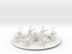 herschell helicopter assembled in White Natural Versatile Plastic