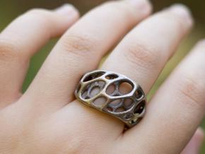 2-Layer Twist Ring in Stainless Steel: 7 / 54