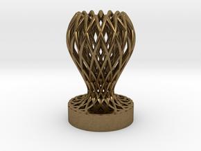 1/1 Mini Trophy in Natural Bronze
