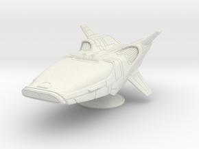RI Shade Mrk5 in White Natural Versatile Plastic: Medium