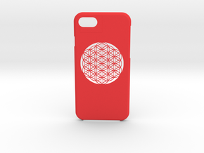 iPhone 7 case in Red Processed Versatile Plastic