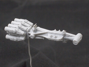 Tantive IV Rebel Blockade Runner Corellian Corvett in Smooth Fine Detail Plastic