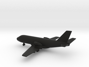 VFW-Fokker 614 in Black Natural Versatile Plastic: 6mm