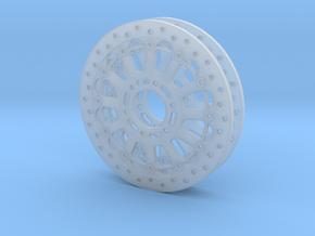 Ducati Brake Discs (pair) in Smooth Fine Detail Plastic