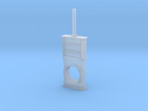 Gate Valve 6 mm 1:100 in Smooth Fine Detail Plastic