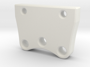 Catch Can Bracket in White Natural Versatile Plastic