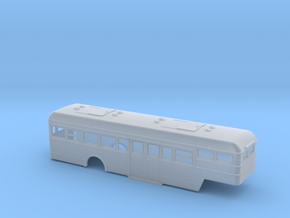 NS Bus (Crossley) Oplegger 87 in Smooth Fine Detail Plastic