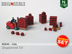 BONUS SET Cola (N 1:160) in Smoothest Fine Detail Plastic