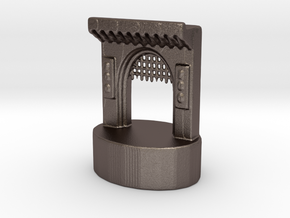 Zoo Gateway Rook in Polished Bronzed Silver Steel