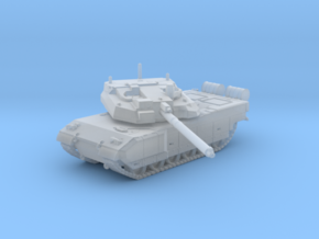 1/144 French Leclerc Main Battle Tank in Smooth Fine Detail Plastic