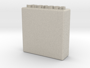 Charger Holder3 in Natural Sandstone
