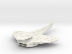 Cardassian Antares Class  Carrier in White Natural Versatile Plastic