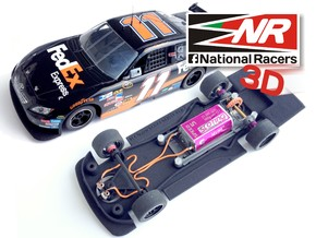 3D Chassis - SCX TOYOTA CAMRY (Combo) in Black Strong & Flexible