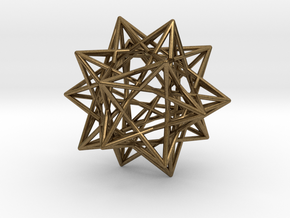 Ten Tetrahedra in Natural Bronze