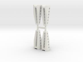 DJI Spark Landing Gear Long in White Strong & Flexible