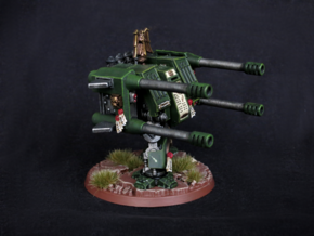Autocannon Right and Left in White Strong & Flexible Polished