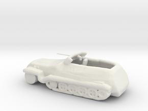 TRUCK3OBJ in White Natural Versatile Plastic