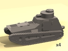 1/220 LK-II light tank (MG armed) in Smoothest Fine Detail Plastic