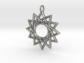 Sunna in Natural Silver