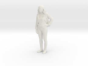 Printle C Femme 725 - 1/24 - wob in White Natural Versatile Plastic