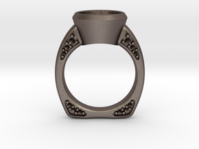 Engagement / Wedding ring RS000200002 in Stainless Steel: 6 / 51.5