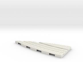 P-165stw-y-junction-curve-250r-part2-plus-1a in White Natural Versatile Plastic