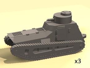 1/160 scale LK-II light tank (MG armed) in White Strong & Flexible