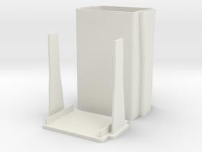 Stylish Cigarette Box/ Cigarette Case in White Strong & Flexible