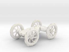 Lava Racer Snorks in White Natural Versatile Plastic