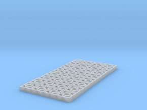 1/25 Breezeblock D 4x8 panel in Smooth Fine Detail Plastic