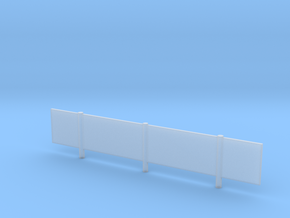 "12'6"" K-Rail Fencing in Smooth Fine Detail Plastic"