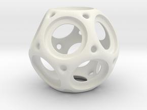 Trekr Bearing Spinner1 in White Natural Versatile Plastic