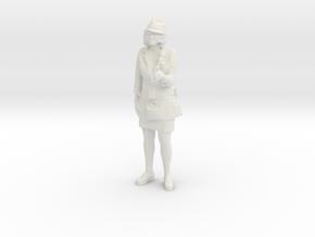 Printle C Femme 700 - 1/24 - wob in White Natural Versatile Plastic
